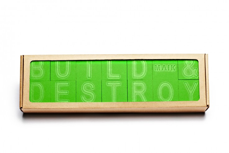 Build & Destroy by MAIK - Photography by Lior Zilberstein (www.liorz.com)