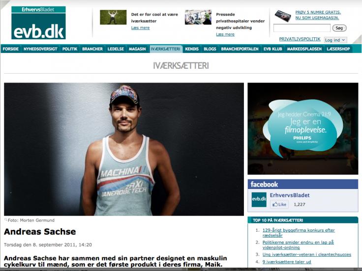 MAIK Erhvervsbladet September 2011