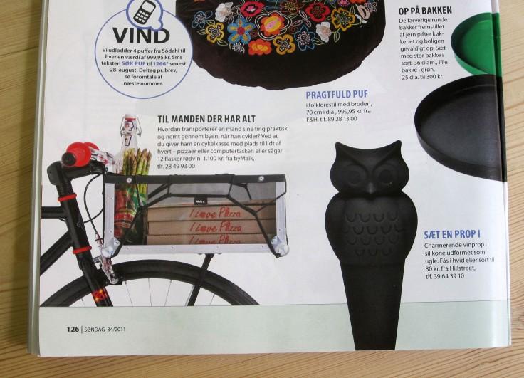 The Bike Crate in Søndag (September 2011)